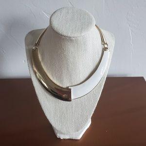 Bebe Mod Collar Necklace